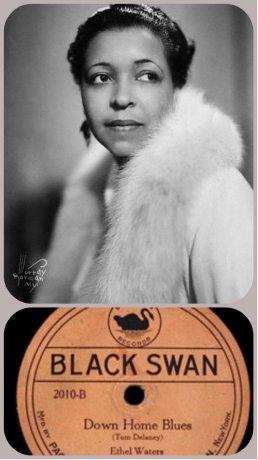 ethel black swan collage